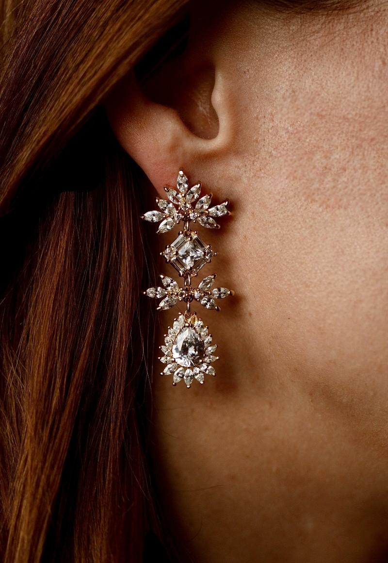 Фото Keren Wolf Earrings - Blanche Moscow