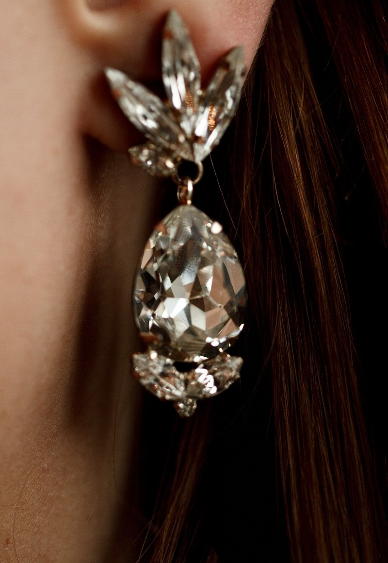 Фото Keren Wolf Earrings - Blanche Moscow