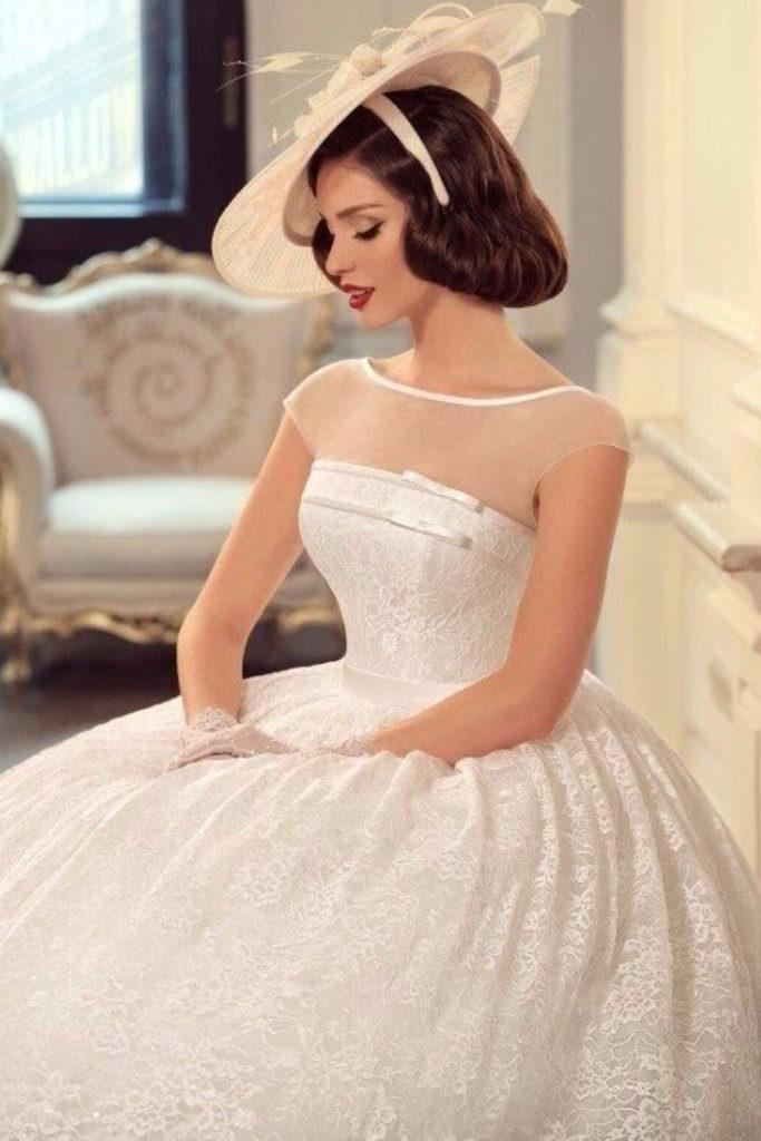 Ретро свадебное платье