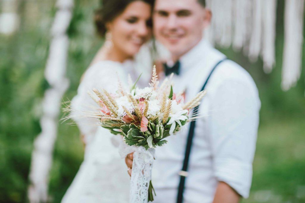 Свадебный букетик