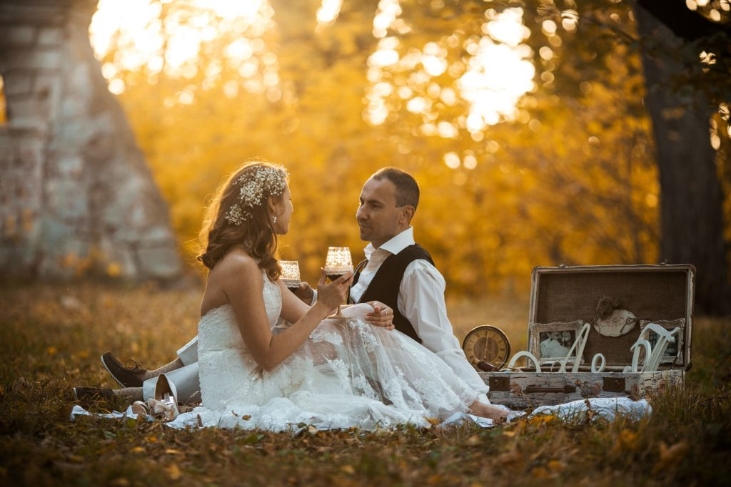 Пикник жениха и невесты