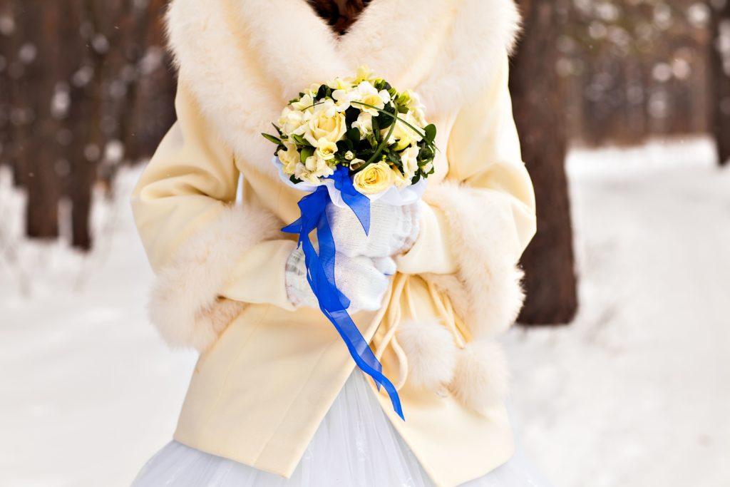 Фото Идеи для свадьбы в зимней тематике - Blanche Moscow