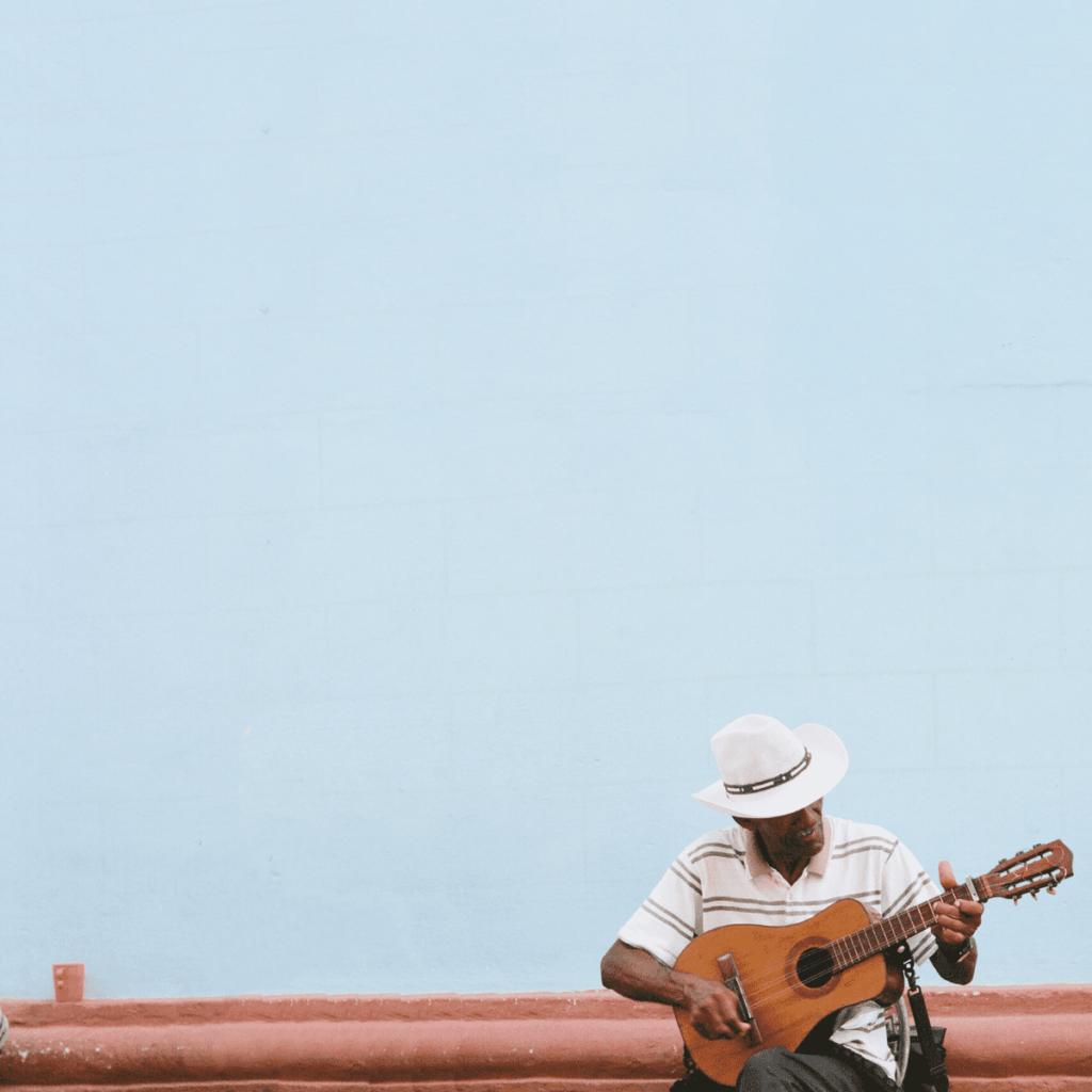 Кубинский музыкант