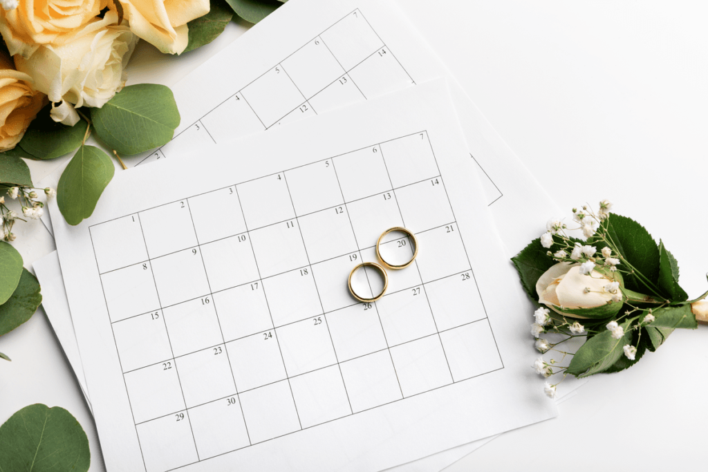 Планирование дня свадьбы